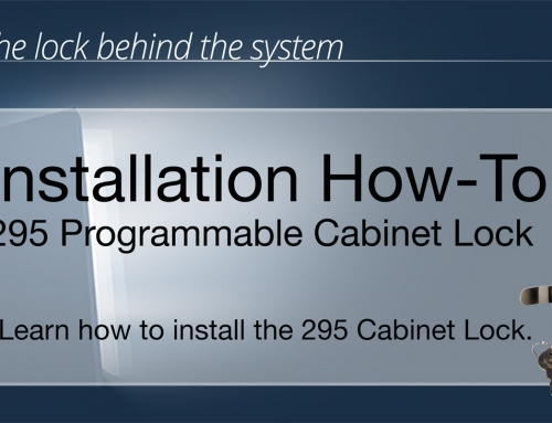 SDC 295 Programmable Cabinet lock Installation video