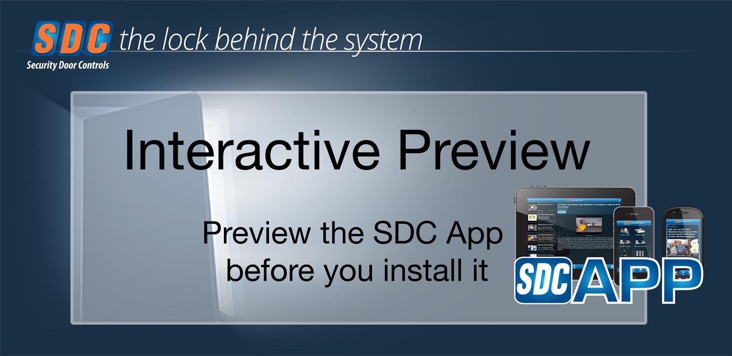 Interactive Demo for SDC App