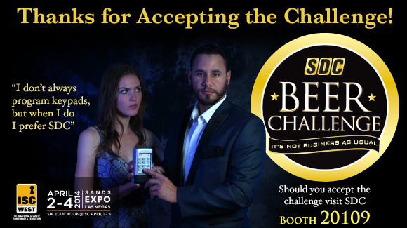 SDC Beer Challenge ~ ISC West 2014