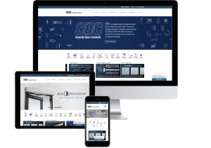 SDC new website on 3 devices