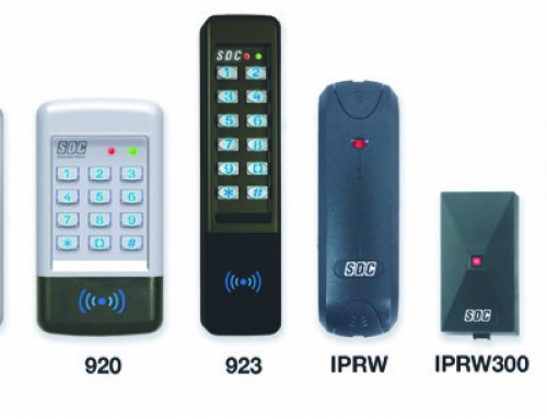 SDC Expands Line of Digital Card Readers and Keypads for Access Control