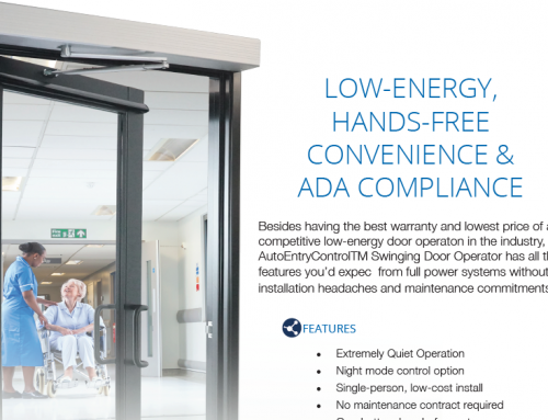 Not Only for ADA Compliance- 99% of Consumers Prefer Automatic Vs. Manual Doors