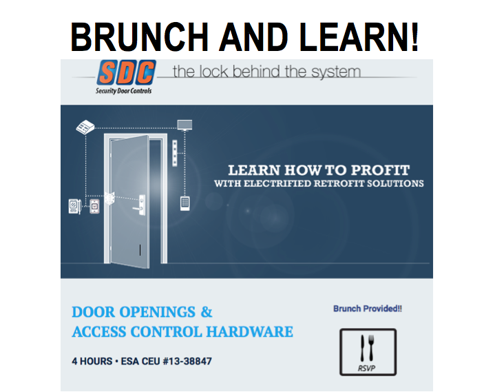 Brunch and Learn! CEU Courses Coming to 13 SES Branches!